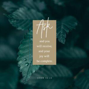 Answered Prayer, Part 1