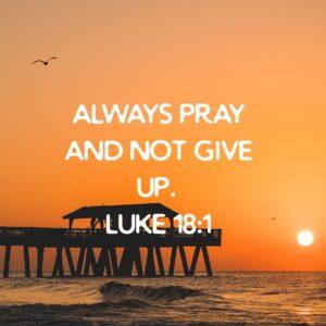 Praying Persistently