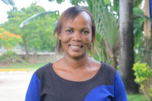 Gladys Misikoyo support staff at Crossroads Fellowship Nyali