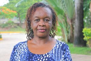 Jayne Clair Kids On Track director at Crossroads Fellowship church in Nyali,Mombasa Kenya