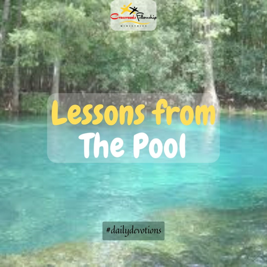 Lessons from the pool