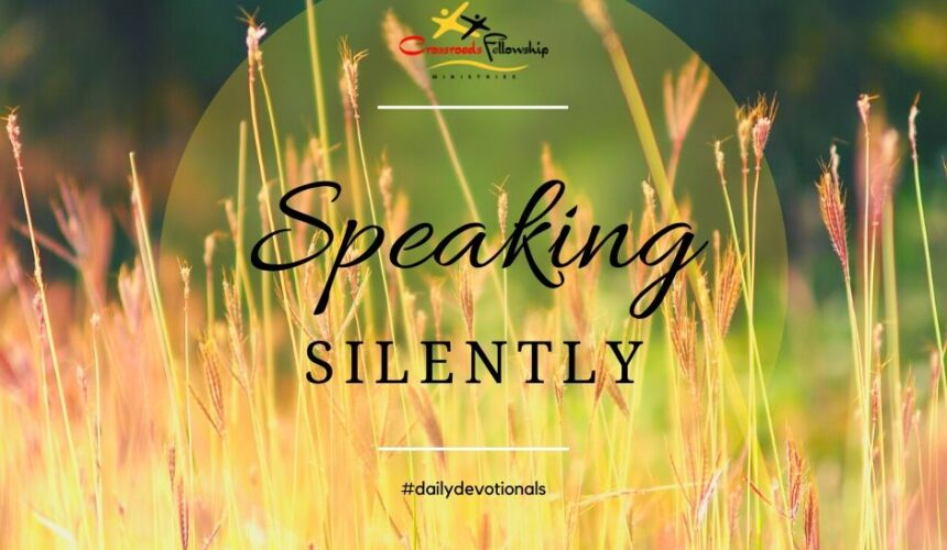 Speaking silently