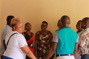 Ministry groups Crossroads Fellowship Nyali church in Mombasa Kenya